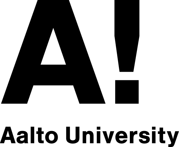 Logo of the Aalto University in Finland.