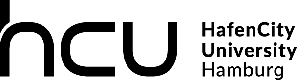 Logo of the HafenCity University in Black