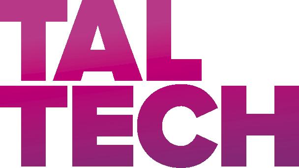 Logo of the Tallinn University of Technology. TALTECH
